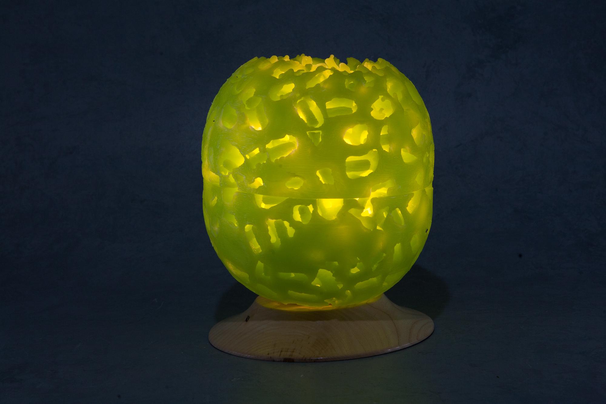 Lunar Globe Green 240v