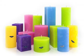 colour therapy candle, Ireland, handmade