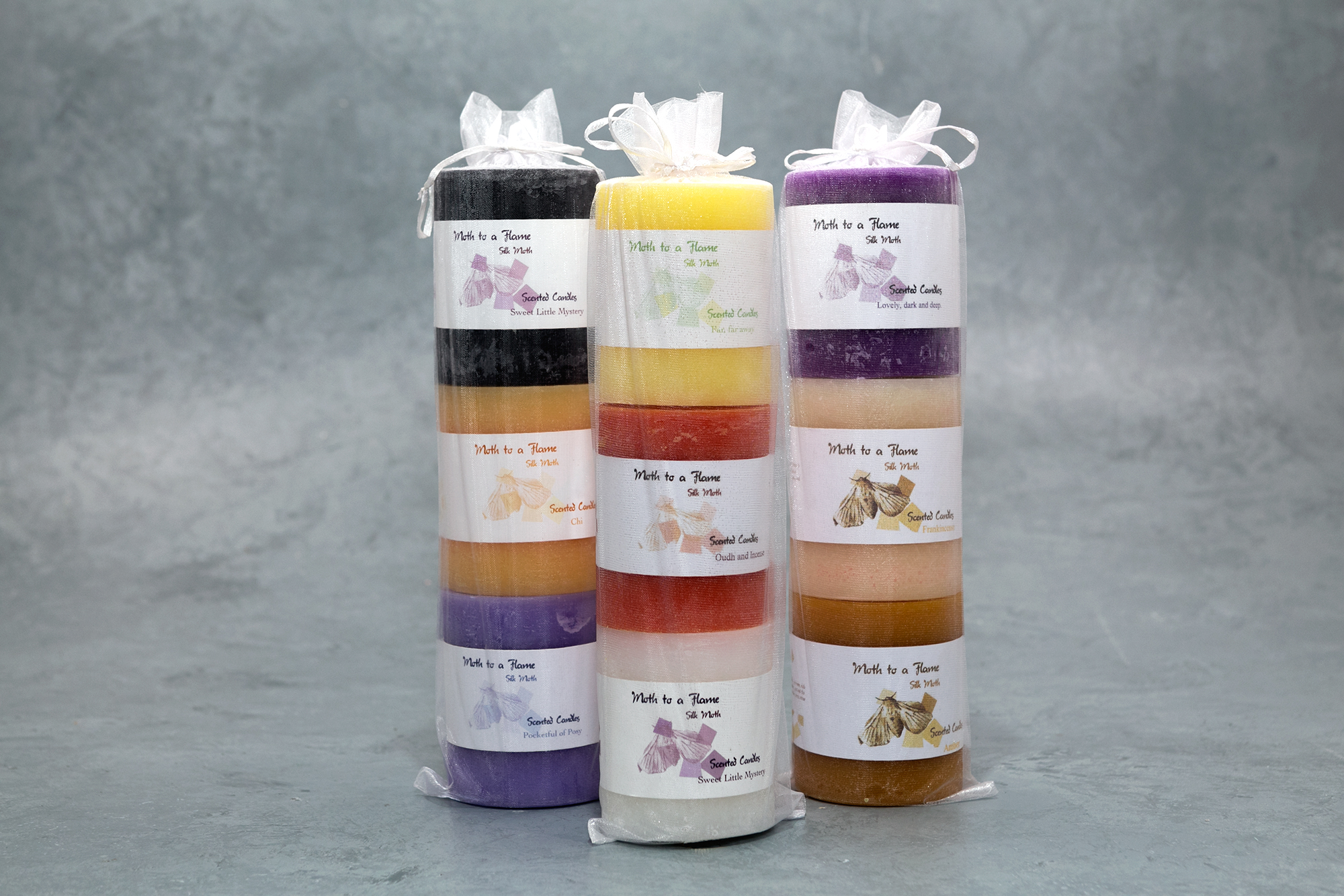scented candles, gift pack, handmade, ireland