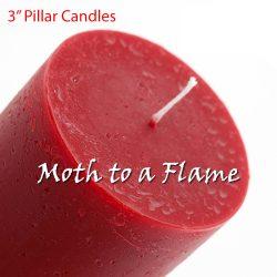 pillar candles, colours, handmade, ireland