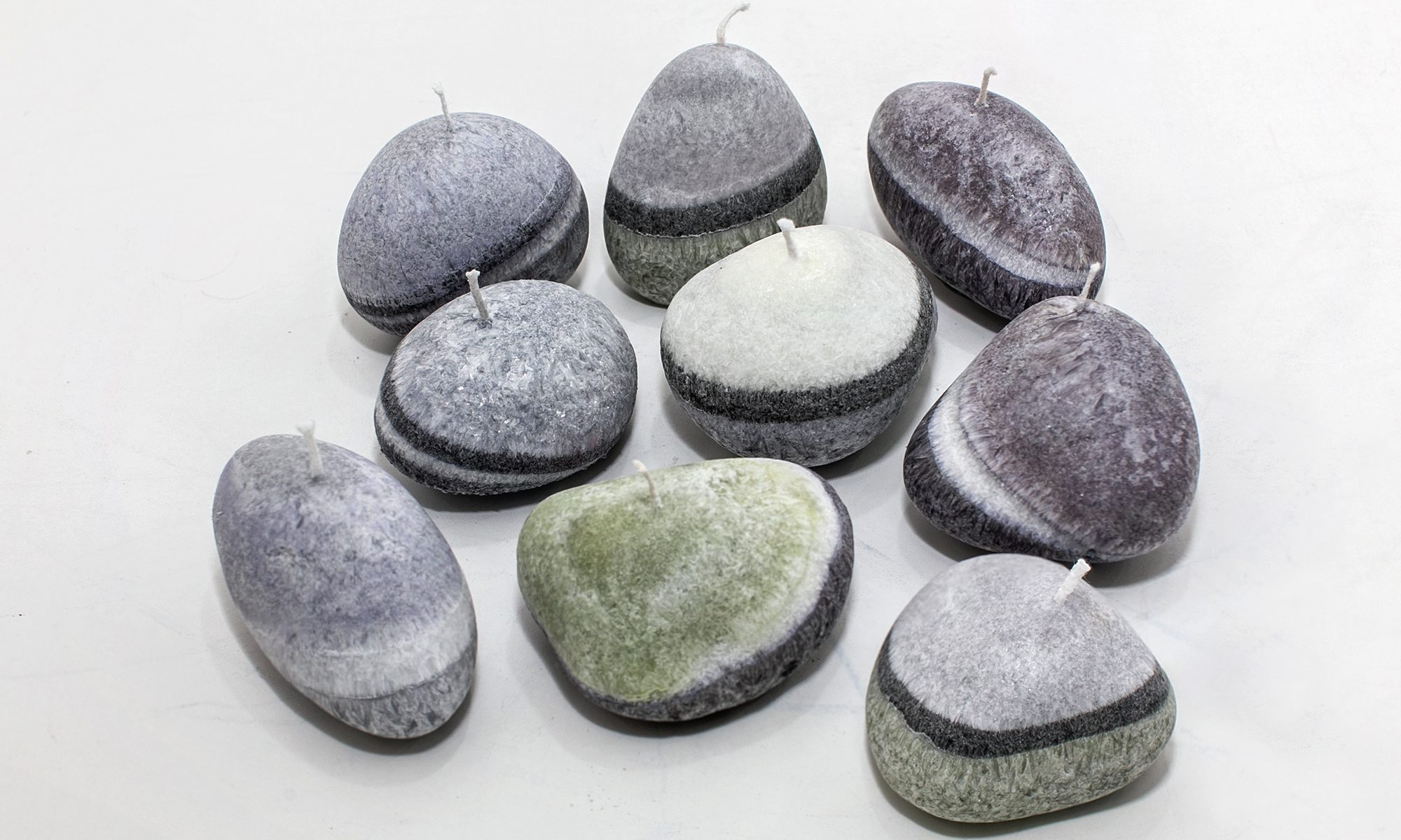scented pebbles, handmade, ireland,
