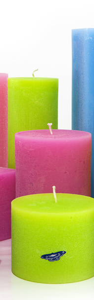 colour therapy candles, hand made, Ireland,